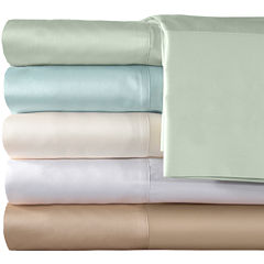 American Heritage 300tc Set of 2 Cotton Sateen Solid Pillowcases
