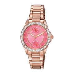 Citizen® Eco-Drive® Womens Crystal-Accent Bracelet Watch FD3003-58X