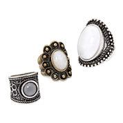 Decree® Set of 3 Rings
