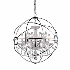 Warehouse Of Tiffany Saturn's Ring 16-inch Chandelier