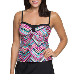 Aqua Couture Bandeau Swimsuit Top