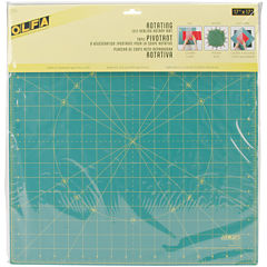 Olfa Spinning Rotary Mat – 17 x 17