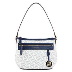 Liz Claiborne Jess Top Zip Shoulder Bag