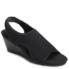 A2 by Aerosoles Coffee Cake Womens Wedge Sandals