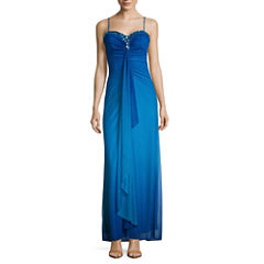 Reign On Sleeveless Applique Evening Gown-Juniors