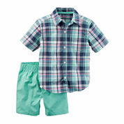 Carter's Boys Short Sleeve Short Set