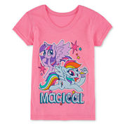 My Little Pony Girls My Little Pony Graphic T-Shirt-Toddler