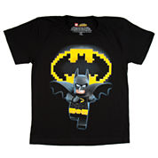 Boys Batman Graphic T-Shirt-Big Kid