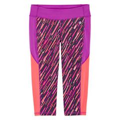 Xersion Performance Print Capri Legging - Girls' 7-16 and Plus