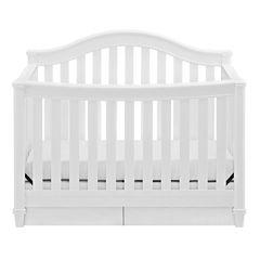 Thomasville Kids Convertible Baby Crib - White