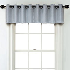 JCPenney Home Textured Blackout Grommet Unlined Tailored Valance