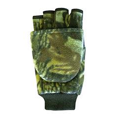 QuietWear® Insulated Fleece Flip-Top Gloves
