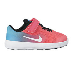 Nike Revolution 3 Girls Running Shoes - Toddler