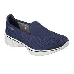 Skechers Go Walk 4 Pursuit Womens Slip-On Shoes