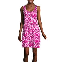 a.n.a Print Pocket Dress