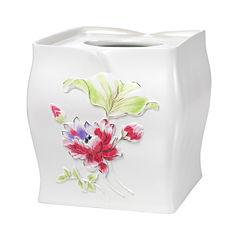 Popular Bath Flower Haven Tissue Box Cover