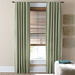 JCPenney Home™ Supreme Thermal Rod-Pocket/Back-Tab Curtain Panel
