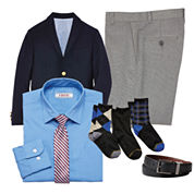 IZOD® Shirt and Tie, Blazer, Pants, Belt or Gold Toe® Socks – Boys