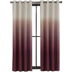 Colordrift Mystic Ombré Grommet-Top Curtain Panel