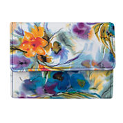 Mundi® Amsterdam Watercolor Print Indexer Wallet
