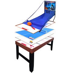 Hathaway Accelerator 54-In 4-In-1 Game Table