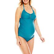 Spencer® Tankini Swim Top or Bikini Bottoms - Maternity