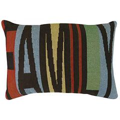 Park B. Smith® Family Multi-Color Decorative Pillow