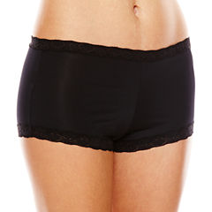 Maidenform Lace-Trim Microfiber Boyshorts - 40760