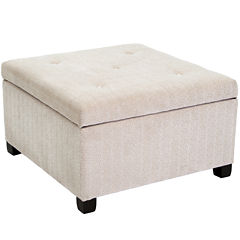Avery Tufted Storage Ottoman