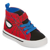 Spiderman High Top Boys Sneakers