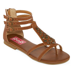 Pop Satiny Womens Strap Sandals