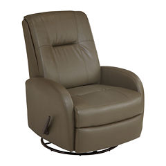 Best Chairs, Inc.® Modern PerformaBlend Swivel Glider Recliner