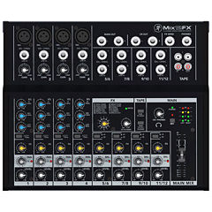 Mackie Mix 12FX 12-Channel Compact Mixer with Effects