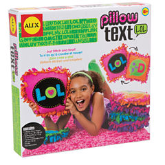 Alex Toys Craft Pillow Text