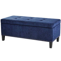 Madison Park Everly Storage Ottoman