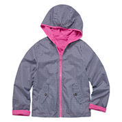 Rothschild Reversible Jacket With Blue Gingham Print