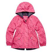 Pink Platinum Girls Lightweight Anorak-Preschool