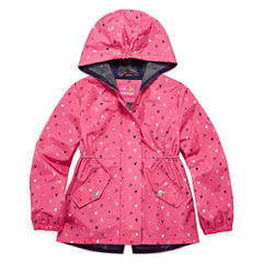 Pink Platinum Girls Lightweight Anorak-Preschool