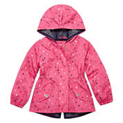 Pink Platinum Girls Lightweight Anorak-Toddler