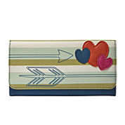 Relic® Takeaway Flap Checkbook Wallet