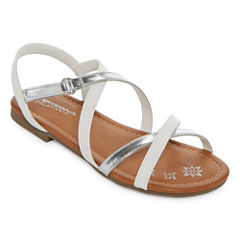 Arizona Senna Girls Strap Sandals - Little Kids