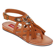 Just Dolce By Mojo Moxy Sable Womens Strap Sandals