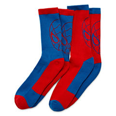 Licensed Properties Ats Spiderman Crew Socks