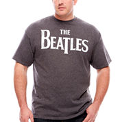 Beatles Logo T-Shirt-Big And Tall