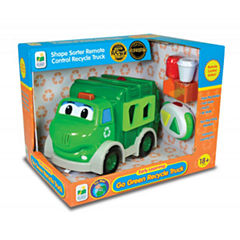 The Learning JourneyRemote Control Shape Sorter, Recycle Truck