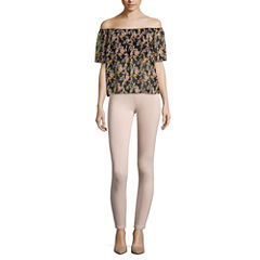 i jeans by Buffalo Off Shoulder Top or Super Stretch Pants