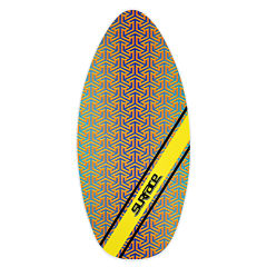 Wave Rebel Surface 45 Inch Wood Laminate Skim Bodyboard