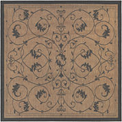 Couristan® Veranda Indoor/Outdoor Square Rug