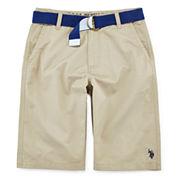 U.S. Polo Assn.® Twill Shorts - Boys 8-18