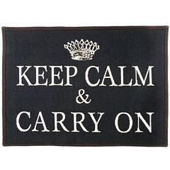 Keep Calm Rectangular Rug